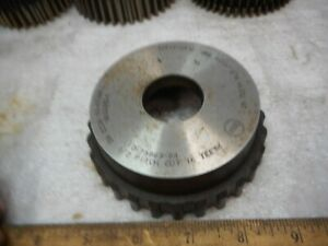 Bc Co Sykes Gear Shaper Cutter 1 2 Pitch 28 Teeth Wd 1175 Ex Cond Cutter
