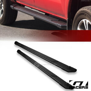 For 2005 2020 Toyota Tacoma Double Cab 5 Matte Black Ti Aluminum Running Boards