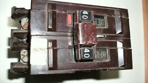 Wadsworth 2 Pole 40 Amp Type A Circuit Breaker