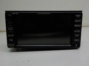 2009 2010 Toyota Matrix Am Fm Cd Gps Navigation Radio With Display Oem