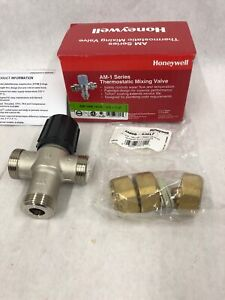 H3 Honeywell Am 1 Series Thermostatic Mixing Valve Hvac Plumbing Am100c1070