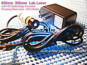 830nm 300mw Ir A c Laser 3v D c For Lab Or Nightvision Use Powerful Compact