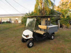 2017 Cushman Refresher 19th Hole Beverage Vending Type Golf Cart Gas Engine