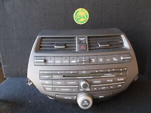 2010 2012 Honda Accord Ex L Remanufactured 6 Disc Cd Player Radio Oem