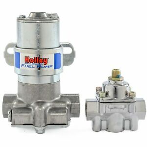 Holley 12 802 1 Blue Max Pressure Electric Fuel Pump Pressure Regulator