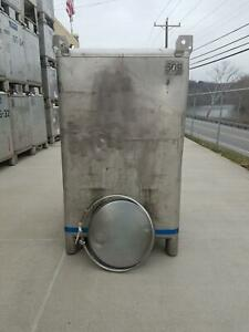 Used 550 Gallon Stainless Steel Tote Ibc Tank Precision Ibc Sku B6