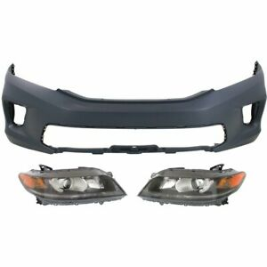 Front New Kit Auto Body Repair Coupe For Honda Accord 2013 2015