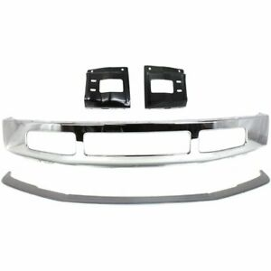 Front New Bumper Face Bar Kit For Truck Chrome Ford F 250 Super Duty F 350 08 10