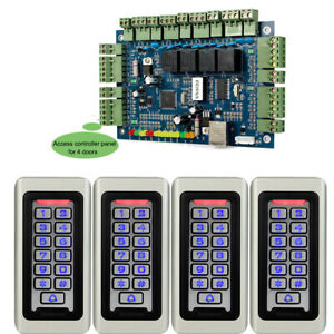 4waterproof Rfid Em id Card Code Reader tcp ip Access Controller Board Panel W26