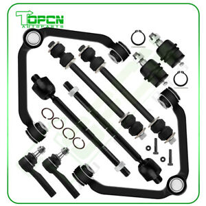 10pcs For 1998 01 Ford Ranger Mazda B4000 Front Control Arm Tie Rods Ball Joints