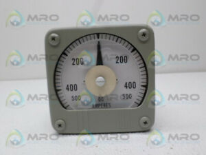 Yokogawa 101123fczz7 Panel Meter 500 0 500 Dc Amps New No Box