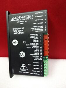 Advanced Motion Controls B12a6f ibm1 Servo Amplifier X04