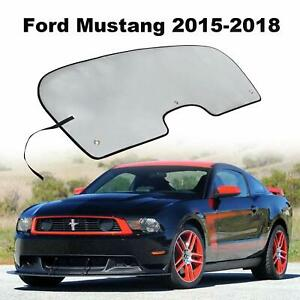 Windshield Sun Shade Visor Sunshade Cover For Ford Mustang Coupe Or Convertible