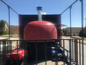 16ft Pizza Food Trailer With A Marra Forni Wood Fired Oven