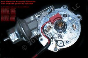 Electronic Ignition Conversion Ford Pinto 4 Cyl Motorcraft Distributor 3for4v3