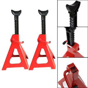 Automotive 6 Ton Pair Of Jack Frame Truck Cars High Lift Repair Tool Adjustable