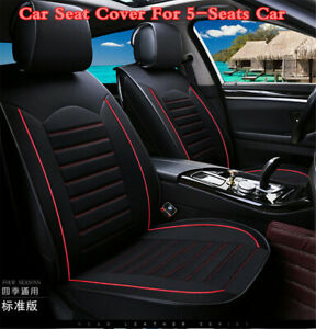 Linen 5 sit Car Seat Cover Car Interior Styling Car Accessories Seat Covers Mat
