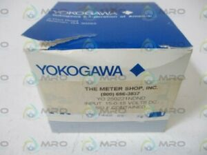 Yokogawa Yo250221ndnd Panel Meter 15 0 15 Dc Volt New In Box