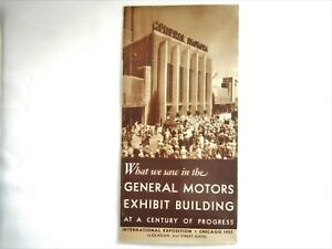 1933 Intl Expo Chicago What We Saw In The General Motors Exhibit Building