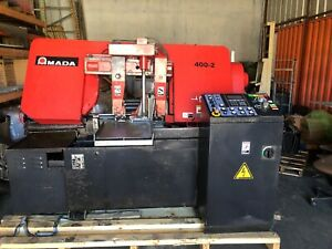 Amada Hfa400w Automatic Horizontal Band Saw