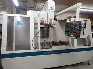 made In Usa Lagun 4824 Cnc 46 x24 restored Magnificent Condition Beats Haas