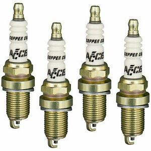 Accel Spark Plugs 0416s 4 Copper Core Spark Plugs