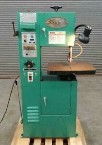 Grizzly Vertical Band Saw 12 Capacity Model 8144 Single Phase 110v
