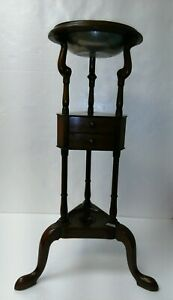 Kittinger Cw 5 Colonial Williamsburg Mahogany Basin Stand Medium Wood Excellent