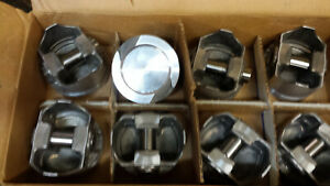 400 Ford Forged Pistons Standard Bore L2414f Set Of 8