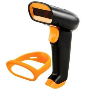 Wireless Barcode Scanner 2 4g 30m For Pos And Inventory