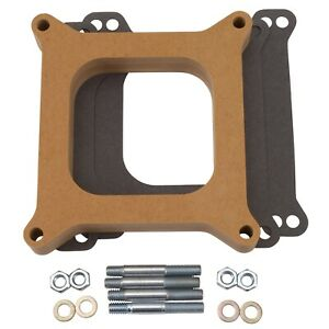 Edelbrock 8720 4 barrel Carburetor Spacers