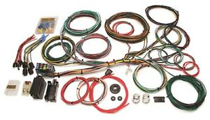 Painless Wiring 10123 21 Circuit Customizable Color Coded Chassis Harness