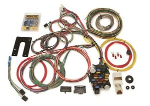 Painless Wiring 10201 28 Circuit Classic Plus Customizable Chassis Harness
