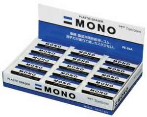 New Tombow Eraser Mono Mono Stationery Pe03 30pcs Pe 03a 30p From Japan