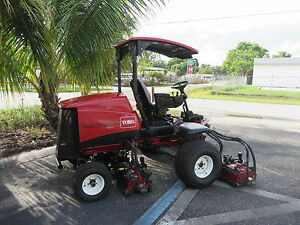 Toro 5610 Reelmaster Fairway Reel Mower Diesel 100 Cut Dpa Reels 03690