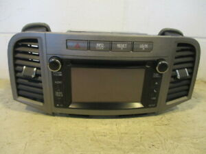 2013 2014 Toyota Venza Cd Player Radio Am Fm Display Screen Receiver 57042 Oem