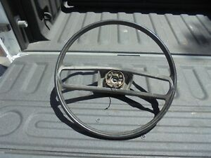 1974 Dodge Truck Black Steering Wheel Mopar 73 74 75 76 77 78 Pick Up Pn 3496322
