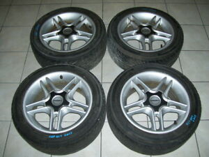 Borbet Aftermarket 15 Wheels Set Of 4 With Yokohama 205 50r15 Tires Lkq