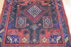 4 2x9 6 Fine Quality Genuine Persian Meshkin Animal Tribal Hand Knotted Wool Rug