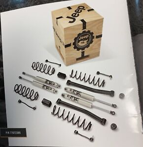 2018 19 4dr 3 6l Jeep Wrangler Jl 77072395ab 2 Lift Kit Includes Wood Crate
