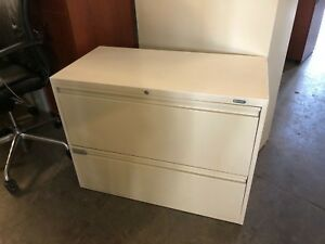 2dr 36 wx18 dx27 h Lateral File Cabinet By Global Office Furniture W Lock