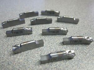 Lot Of 10 Taegutec Tsj 4 Tt8020 Carbide Parting And Grooving Inserts New