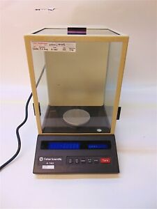 Fisher Scientific Denver Instruments A 160 Top Loading Balance Scale Nice S4012