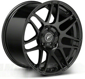 Forgestar F14 C7 Z06 Wheels 18x5 18x12 Gloss Black