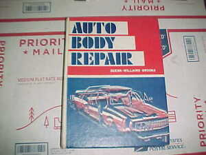Vtg 70 S Auto Body Shop Hb Book 478 Pages Hammer Dolly Spoon Hand Tool Use