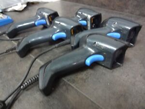 Lot Of 5 Datalogic Gryphon Gd4400 Handheld Scanner W Usb Cable