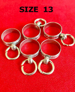 Thai Amulet Ring Central No 13 Takrut Tubes Case 5 Pcs