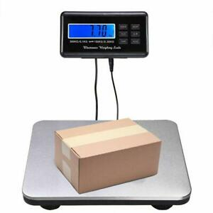 660lbs 0 1lb Digital Scale Floor Postal Platform Shipping Scales Weight Postage