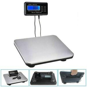 660lbs X 0 1lb Digital Backlit Lcd Display Floor Platform Shipping Postal Scale