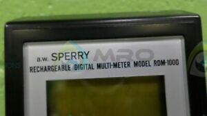 Sperry Rdm 1000 Digital Multimeter new No Box